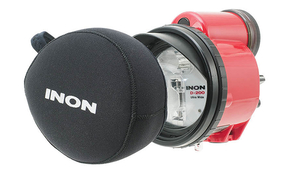 Inon Announces Cover for the Z-330/D-200 Strobe and Wide Conversion Lenses