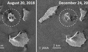 Indonesian Volcano Anak Krakatau Lost Three-Quarters of Volume