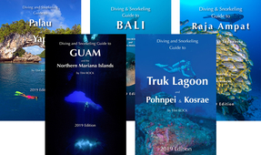 Diving Guide Book Series by Tim Rock and Simon Pridmore Updated for 2019