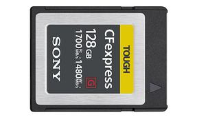Sony Announces Ultra-Fast CFexpress Type B Memory Cards