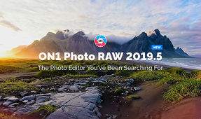 ON1 Photo RAW 2019.5 Update Available for Download