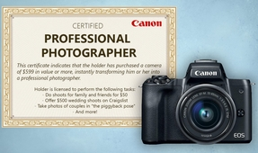 Canon's New Pro Photographer Certification