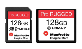 Manfrotto Launches Pro Rugged Waterproof Memory Cards